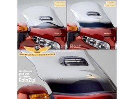 Special Edition V-stream windscreen GL1800 incl vent and gold sparkling finish  N20014