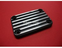 Mastercylinder cover black with cool-ribs GL 1100 4 -holes