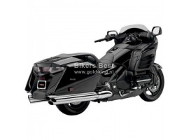 Goldwing GL1800 Bagger uitlaat demper set 6 in 6 look chroom  1811-2575