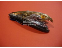 Front fender eagle chrome/gold with lighting  (  P 14050166 )