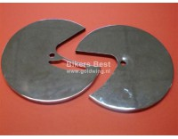 brake disc cover set in chorme 1980-1981