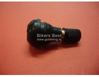 Rubber valve stem short