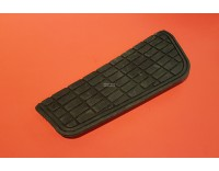 Footboard rubber for heel / toe switch right GL1500 length 27.5 cm!