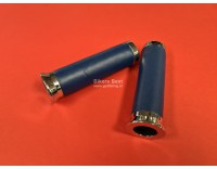Blue genuine leather grip set all Goldwing models