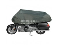 Half motorcycle cover for fairing, seat and topcase Goldwing