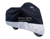 Motorcycle cover specially made for Goldwing and Valkyrie Interstate Black/Silver
