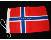 Norway flag about 20 x 30 cm.