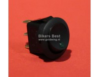 Universal swivel switch with green LED light