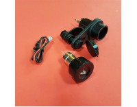 Cigarette lighter / 12 volt socket all models, handlebar mount