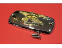 master cylinder cover, with eagle spirit logo gold GL 1500 (1 pc.)