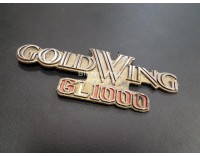 Side panel emblem GL1000 K3-KZ  ( used )  New no longer available