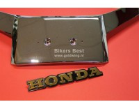# 87108-MB9-771 Emblem for Windshieldpanel and saddlebag. Attention:  Length is 19,5 cm ! short one is no longer available ....