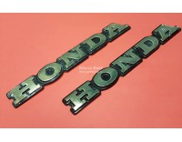 Honda emblem large, 19.5 cm. used, per piece