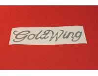 Goldwing GL 1500 text vinyl sticker, width 35 cm. color: silver