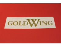 Goldwing GL 1000/1100/1200 text vinyl sticker width: 35 cm. color: gold