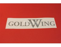 Goldwing GL 1000/1100/1200 text vinyl sticker width: 25 cm. color: silver