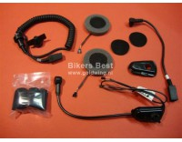 J&M Headset for Nolan N43/N103 helmet with wire.