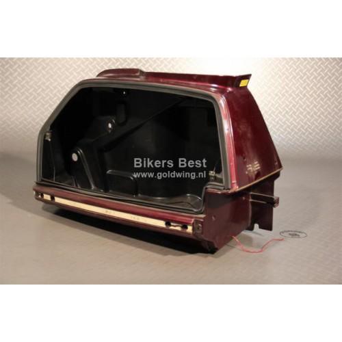 seitenkoffer gl1500 links dunkelrot mit l chern vorne. Black Bedroom Furniture Sets. Home Design Ideas
