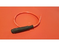Spark plug cable red with cap length 60 cm