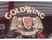 GL 1000 LTD side cover sticker set GOLDWING