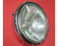 Complete chrome headlight GL1000 models used