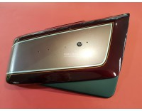 #83700-ML8-700ZA Side cover right GL1200 Aspencade R-114CU dark red new OEM !