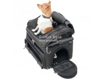 Deluxe dog carrier for motorbike use  41X36X36 CM  (P 3515-0131)