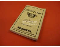 Owners manual  UK GL 1500  SE/ ASP/ Interstate 1994  (second hand)