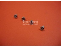 # 93700-030060B Oval screw for valve cover emblem, 3 x 6 mm. GL 1000 ( sold per piece)