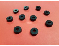 Rubber rings 11-4 mm high 10 pieces