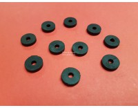 Rubber rings 14 mm - 3 mm high 10 pieces