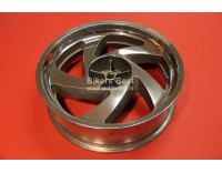 Rear wheel GL1800 highly polished ( must swap in old wheel )