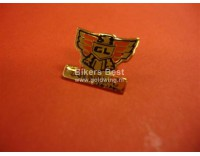 Goldwing logo pin small