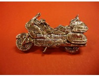 Goldwing GL 1800 pin silver color