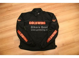 Goldwing All-weather motorjack nieuw model met logo, maat S - 6XL