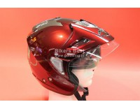 Goldwing helmet dark red with sunglasses, shield and sunvisor. For sizes click on picture