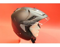 Goldwing helmet matt black with sunglasses, shield and sunvisor. For sizes click on picture !