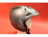 Goldwing helmet matt grey with sunglasses, shield and sunvisor. XS-XXL. For sizes click on the picture