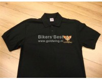 Goldwing poloshirt GL 1000/1100/1200  logo embroidered   ( ad your size at the comments)