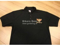 Goldwing poloshirt GL 1500 logo embroidered