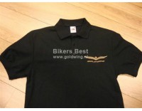 Goldwing poloshirt GL 1800 logo embroidered