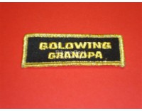 Goldwing Grandpa badge 8 x3 cm.