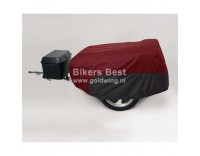 Ultraguard cover for trailers cranberry red / black