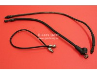 Several lengths brake hoses used  pls give length... ( B52 )