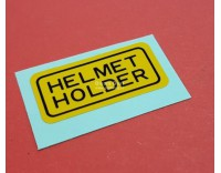 # 87511-323-670 helmet holder sticker GL1000/1100/1200